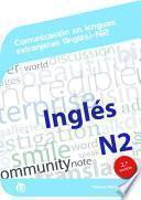 Comunicación en lenguas extranjeras (Inglés) N2
