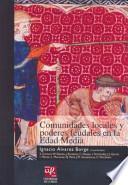 Comunidades locales y poderes feudales en la Edad Media