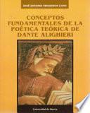 Conceptos fundamentales de la poética teórica de Dante Alighieri