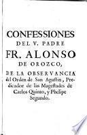 Confessiones de este pecador