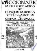 Conquistadores y pobladores de Nueva España