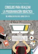 Consejos para realizar la Programación Didáctica del Módulo de FOL en el curso 2018-19