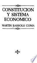 Constitución y sistema económico
