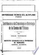 Contribución a la climatología e hidrología de la Cuenca del Titicaca