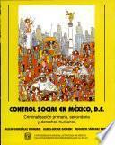 Control social en México, D.F.