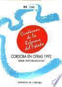 Córdoba en cifras 1992