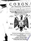 Corona de predicadores o Predicacion de San Esteuan