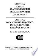 Cortina Handy Spanish - English, English - Spanish Dictionary