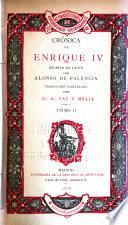 Crónica de Enrique IV [i.e. Cuarto]