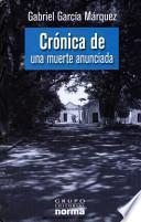 Cronica de una muerte anunciada - Tapa dura