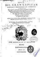 Cronica del gran capitan Gonçalo Hernandez de Cordova y Aguilar