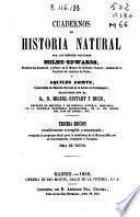 Cuadernos de historia natural