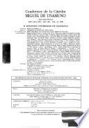 Cuadernos de la Cátedra Miguel de Unamuno
