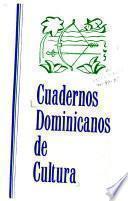 Cuadernos dominicanos de cultura