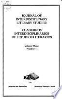 Cuadernos interdisciplinarios de estudios literarios