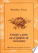 Cuerpo y gesto en El Quijote de Cervantes