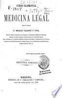 Curso elemental de medicina legal