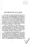 Datos biograficos del Señor General Don Antonio Vega Muñoz