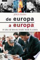 De Europa a Europa