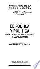 De poética y política