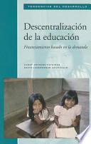 Decentralization of Education