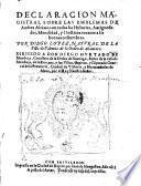 Declaracion magistral sobre las emblemas de Andres Alciato con todas las historias, antiguedades, moralidad y doctrina tocante a las buenas costumbres (etc.)