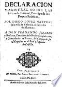 Declaracion magistral sobre las satiras de Juvenal y Persio