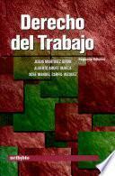 Derecho del trabajo segunda edición