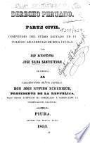 Derecho Peruano. Parte civil. Compendio ...