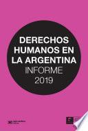 Derechos humanos en la Argentina: Informe 2019