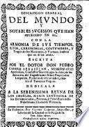 Descripcion general del mvndo y notables svcessos qve han svcedido en el