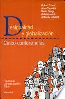 Desigualdad y globalización