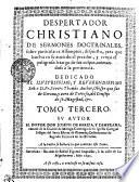DESPERTADOR CHRISTIANO DE SERMONES DOCTRINALES