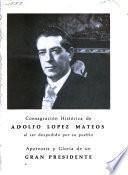 Destino y esplendor de Adolfo López Mateos