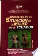 Diagnóstico de la situación de la mujer en el Ecuador, 1980-1994