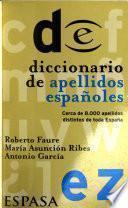 Diccionario de apellidos españoles
