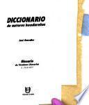 Diccionario de autores hondureños