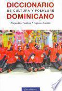 Diccionario de cultura y folklore Dominicano