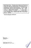 Diccionario de escritores de la Provincia de Buenos Aires