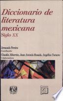 Diccionario de literatura mexicana