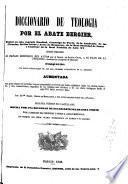 Diccionario de teología: A-Cur (1845. XLIII, 597, [6] p.)