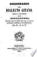 Diccionario del dialecto gitano