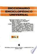 Diccionario enciclopédico universal ...