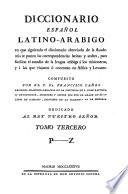 Diccionario Español Latino-Arabico