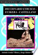 Diccionario Etrusco-Euskera-Castellano