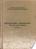 Diccionario geográfico de El Salvador