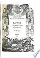 Diccionario Geografico-Estadistico-Historico de Espana