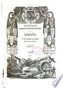 Diccionario geografico-estadistico-historico de España y sus posesiones de Ultramar: MAD-MUZ. (impr. de José Rojas),1848 -T. 12 : NAB-PEZ. (impr. de P. Madoz),1849