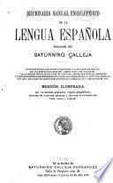 Diccionario manual enciclopédico de la lengua española