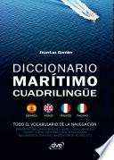 Diccionario marítimo cuadrilingüe Español - Inglés - Francés - Italiano